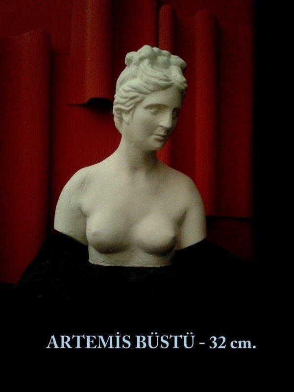 AFRODİT BÜSTÜ - 4- (küçük 32 cm.)