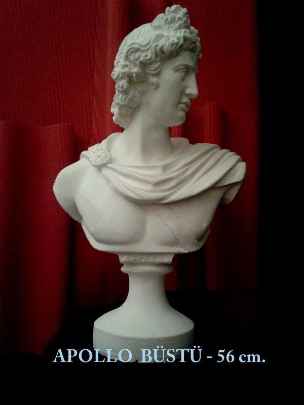 APOLLO  BÜSTÜ -BUST OF APOLLO
